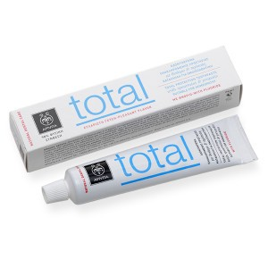 TOTAL Οδοντόκρεμα για Ολοκληρωμένη Προστασία με Πρόπολη & Δυόσμος