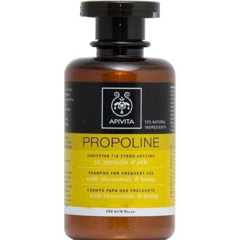 Apivita Propoline Σαμπουάν για Συχνό Λούσιμο Χαμομήλι & Μέλι 250ml