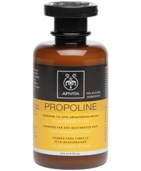 Apivita Propoline Σαμπουάν για Ξηρά/Αφυδατωμένα Μαλλιά με Αμύγδαλο & Μέλι 250ml