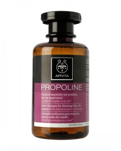 Apivita Propoline Τονωτικό Σαμπουάν Γυναικείας Τριχόπτωσης Λούπινο & Δάφνη 250ml