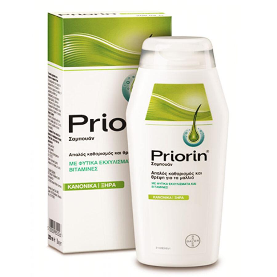 Priorin Σαμπουάν για Κανονικά/Ξηρά Μαλλιά 200ml