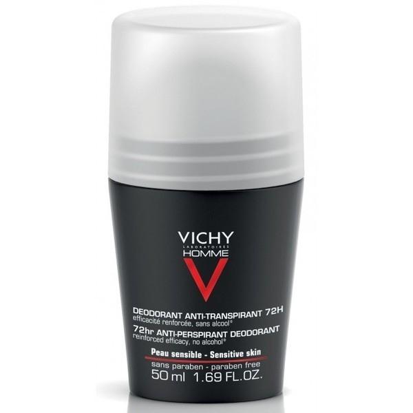 Vichy Homme Anti Transpirante Deodorant Roll On 72h