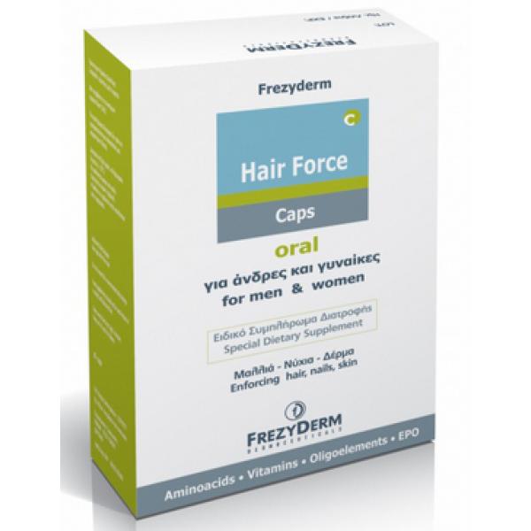 Frezyderm Hair Force 60 Capsules
