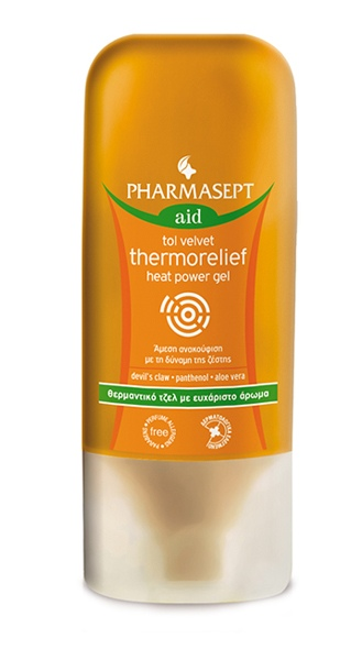 Pharmasept Τζελ Σώματος Tol Velvet Thermorelief Heat Power Gel 100ml