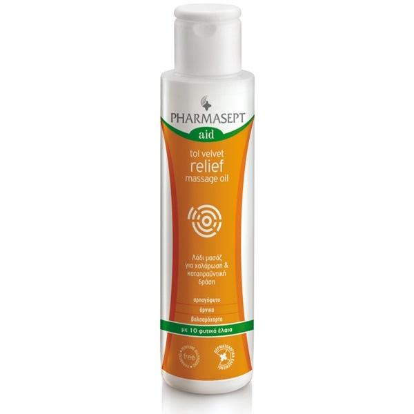 Pharmasept Tol Velvet Relief Massage Oil 125ml