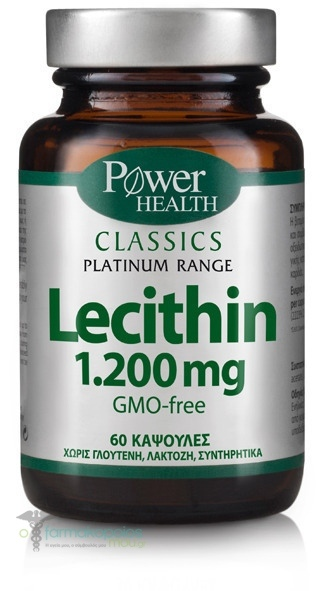 Power Health CLASSICS Platinum Range Lecithin 1.200mg, 60 caps