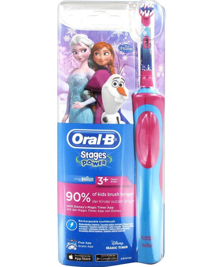 Oral-B Ηλεκτρική Οδοντόβουρτσα Oral B Stages Princesses 3+ years