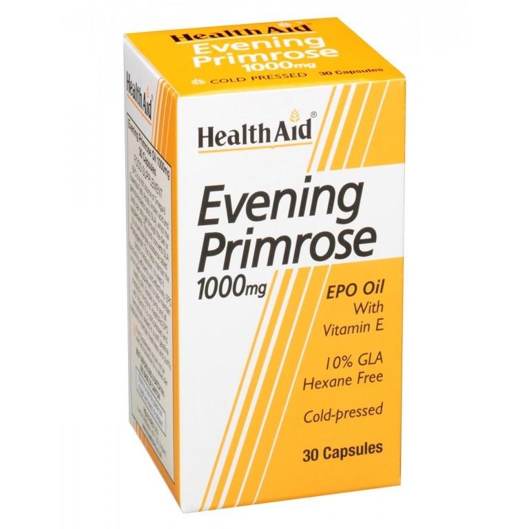 Health Aid EVENING PRIMROSE 1000mg, 30 κάψουλες