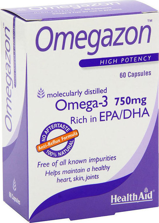 Health Aid Omegazon 750mg 60caps Blister
