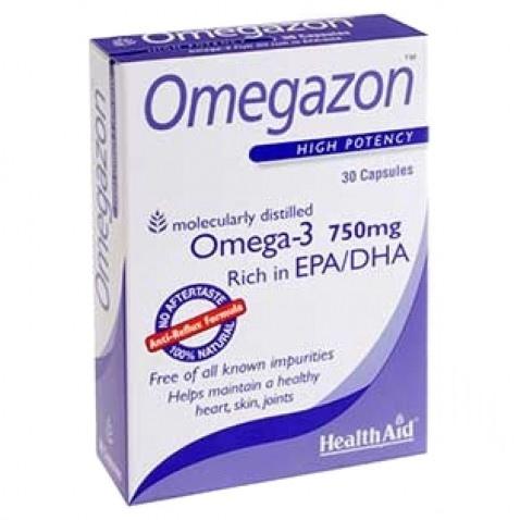 Health Aid Omegazon 750mg 30caps Blister