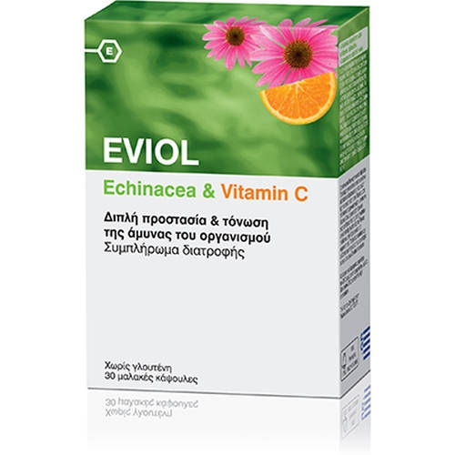 Eviol Echinacea &Vitamin C 30 Caps