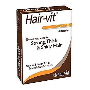 Hair-Vit 30 Caps Health Aid