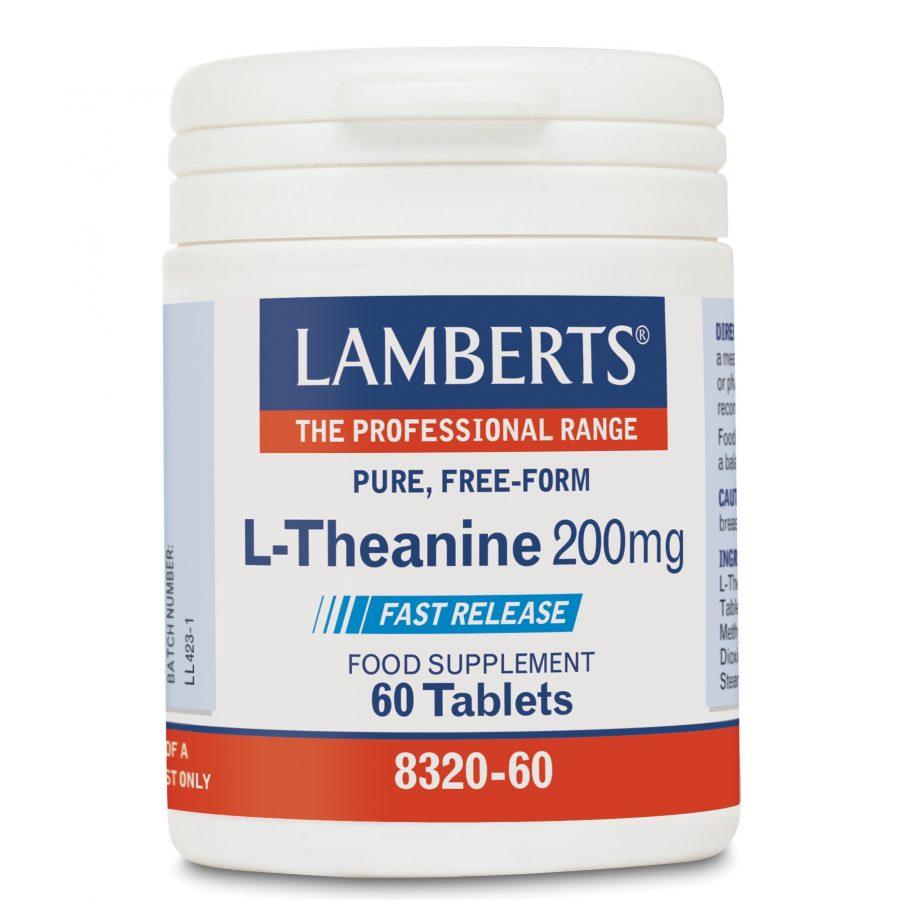 Lamberts L-theanine 200mg 60tabs