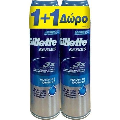 Gillette Series 3X Αφρός Ξυρίσματος 2X250ml