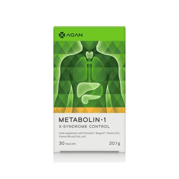 Agan Metabolin 1 30 Vegicaps