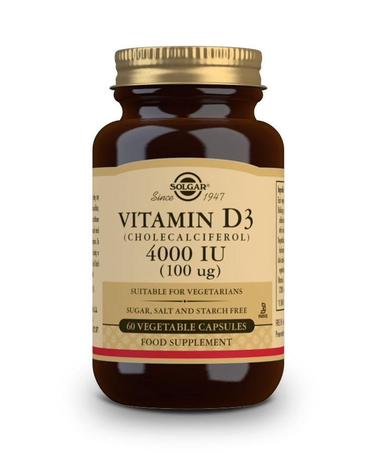 Solgar Vitamin D3 4000IU 60 veg.caps