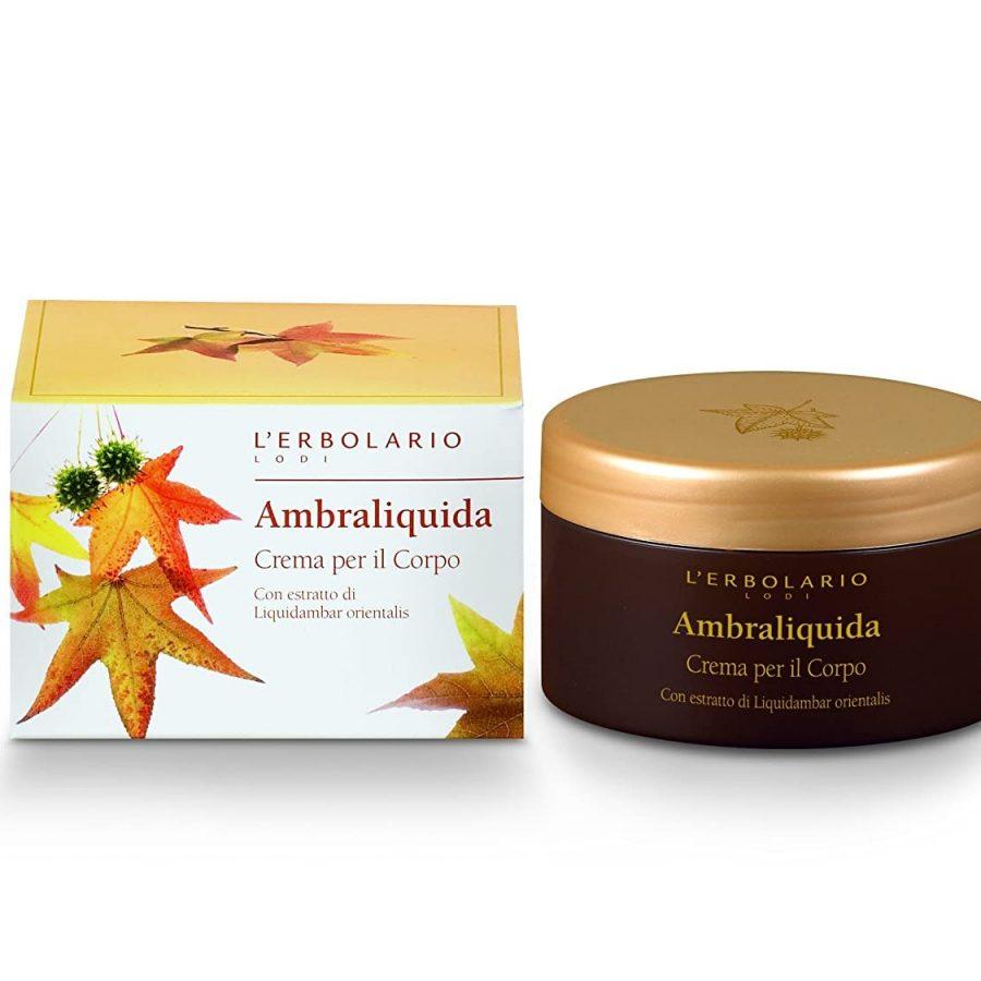 L'Erbolario Ambraliquida Perfumed Body Cream 250ml