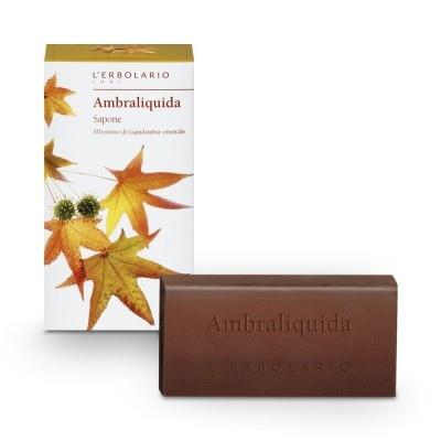 L'Erbolario Ambraliquida Bar Soap 100gr