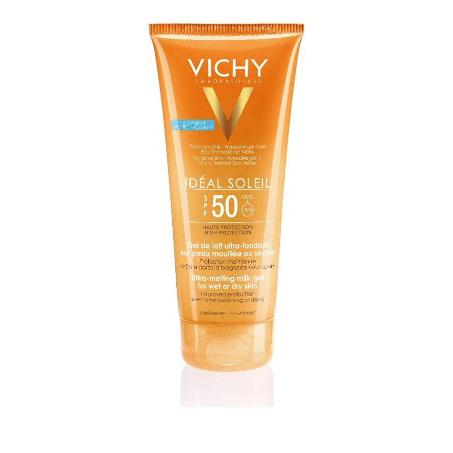 Vichy Ideal Soleil Wet Skin Αντηλιακό Γαλάκτωμα Αντηλιακό Γαλάκτωμα 200ml