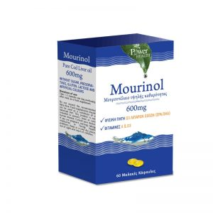 Power Health Mourinol Μουρουνέλαιο Υψηλής Καθαρότητας 600mg