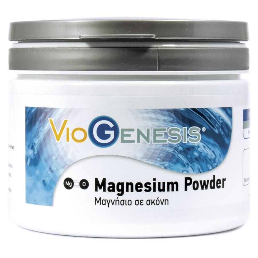 Viogenesis Magnesium Oxide Powder 200gr(οξείδιο του μαγνησίου)