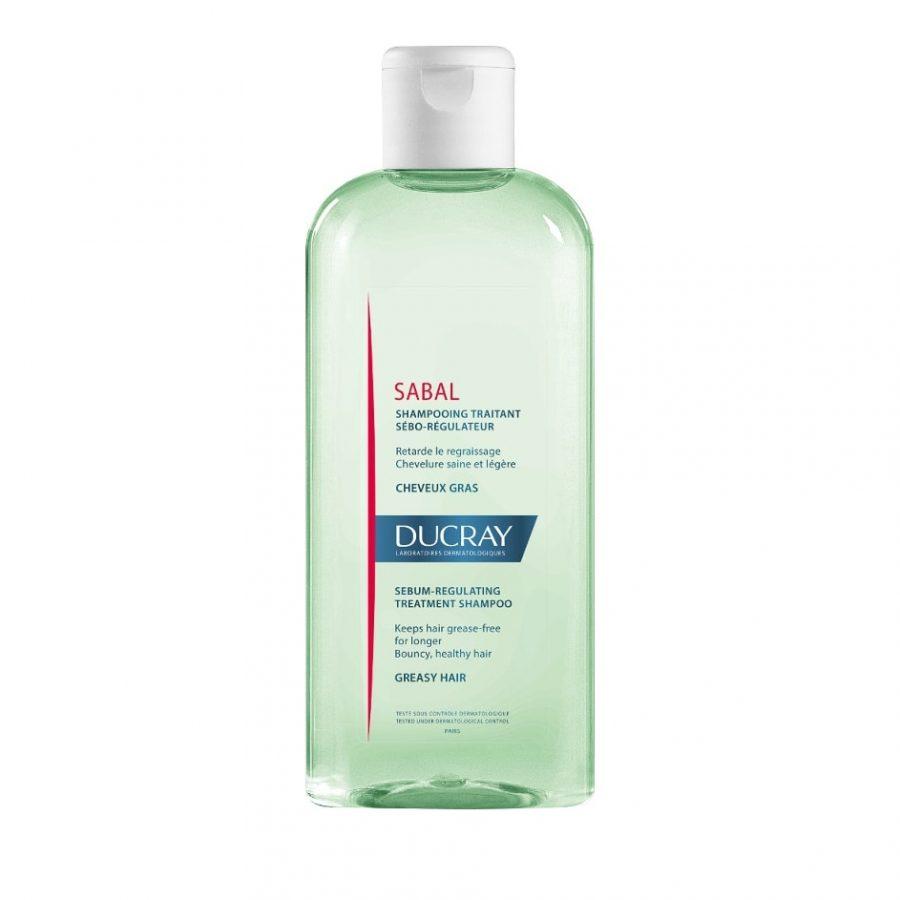 Ducray Sabal Shampooing Σμηγματορρυθμιστικό Σαμπουάν για Λιπαρά Μαλλιά & Τριχωτό 200ml