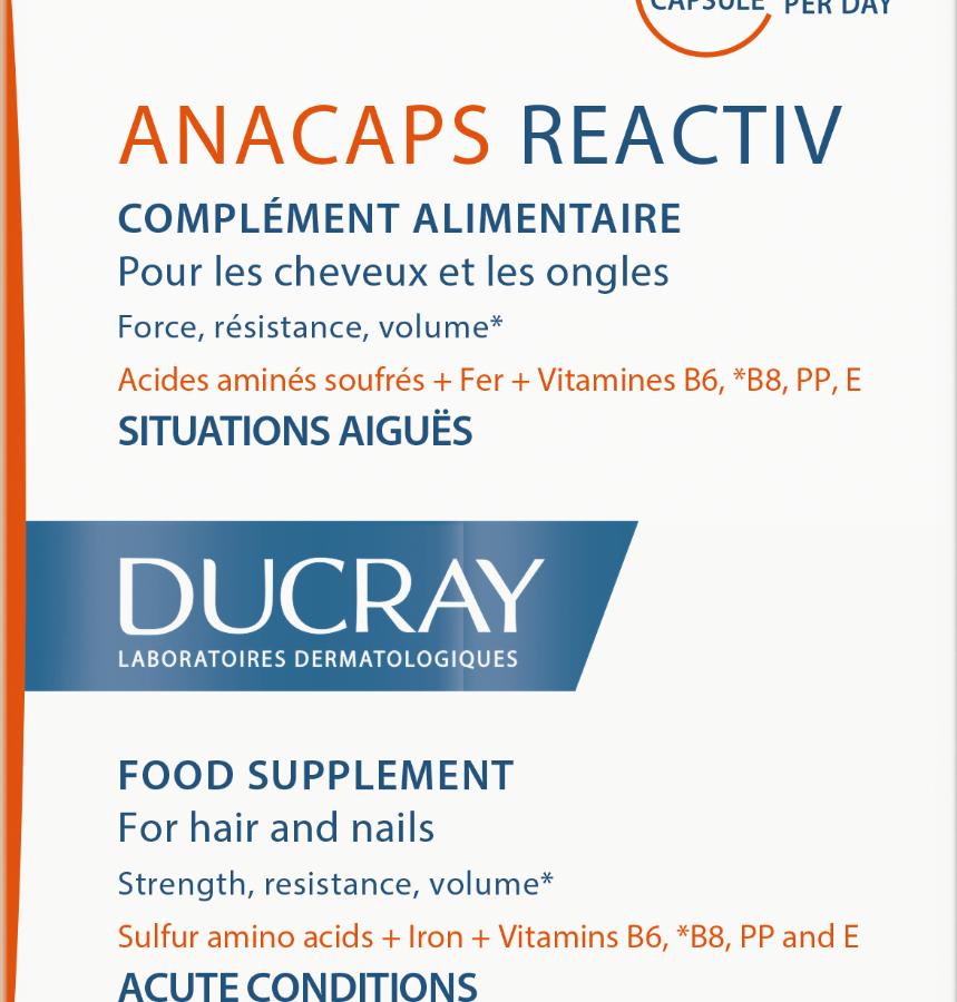 Anacaps Reactiv Συμπλήρωμα Διατροφής 30caps