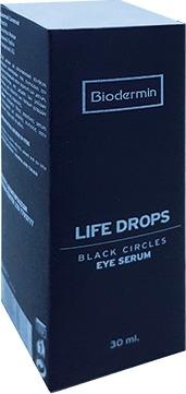 Biodermin Life Drops Eye Serum Black Circles 30ml Ορός Ματιών