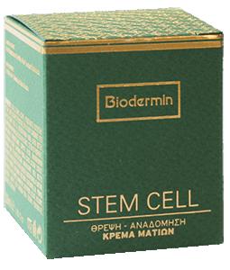 Biodermin Κρέμα Ματιών Stem Cell