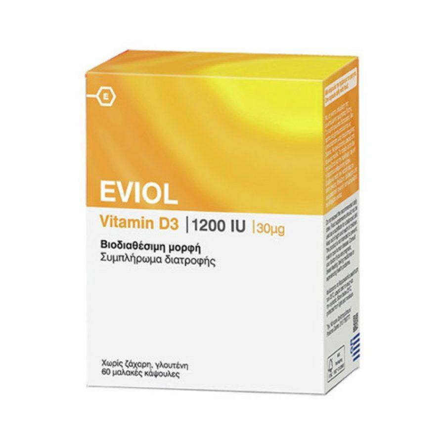 Eviol Vitamin D3 60 soft Caps