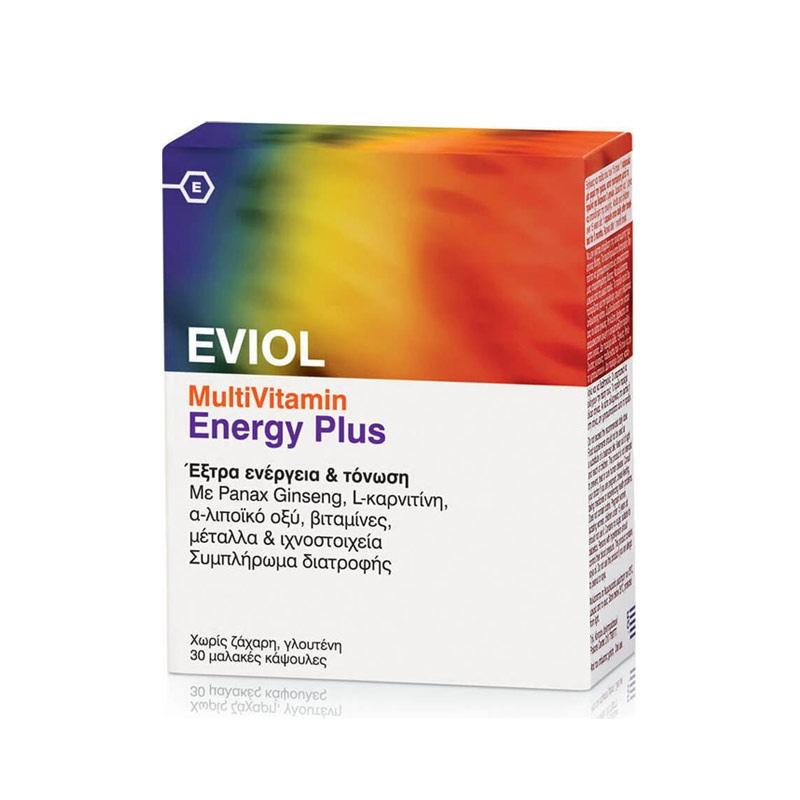 EVIOL MultiVitamin Energy Plus 30 Caps