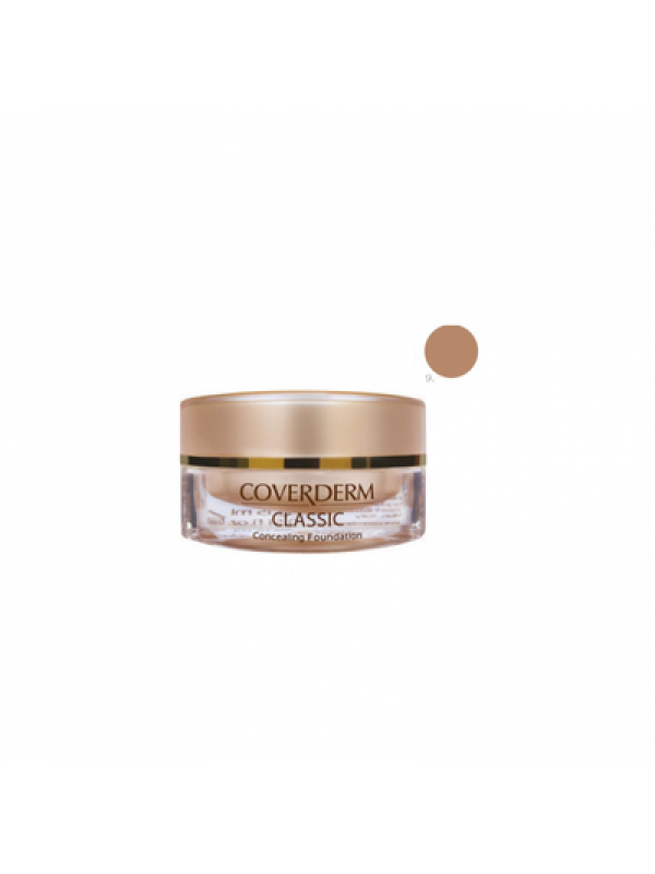 Coverderm Classic Concealing Foundation SPF30 no.8, 15 ml