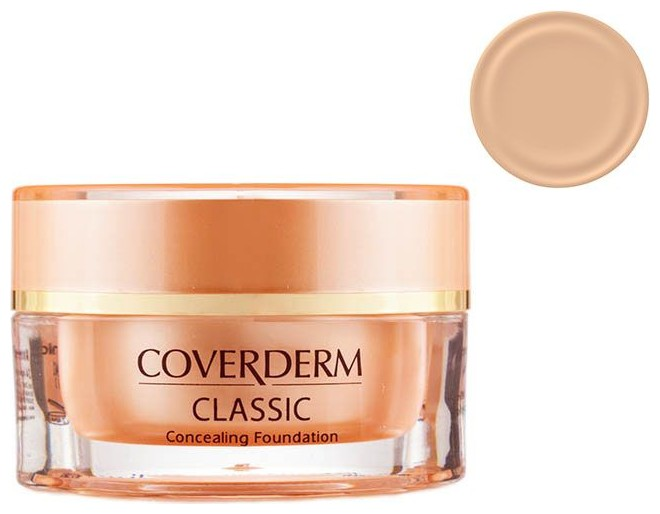 Coverderm Classic Concealing Foundation SPF30 no.1 , 15ml