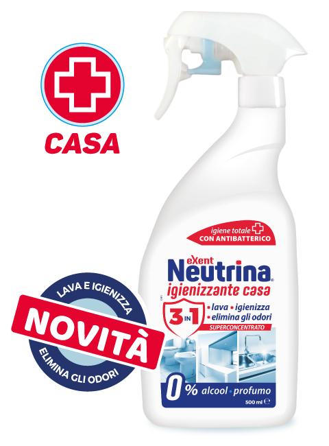Neutrina Απολυμαντικό Καθαριστικό Για Το Σπίτι 500ml