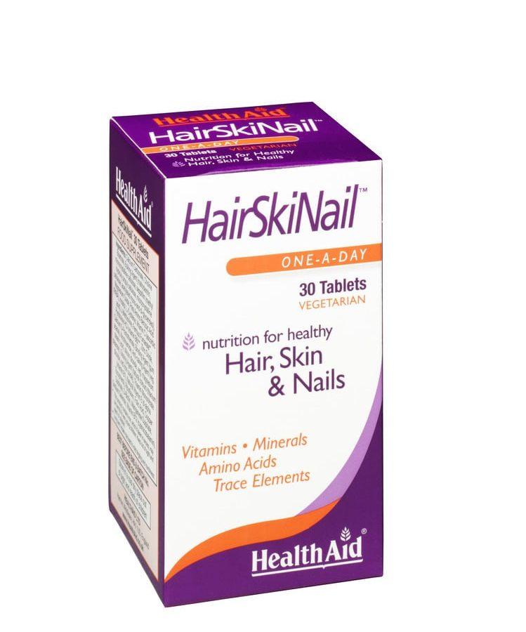 Health Aid Hair Skin Nails 30 tabs