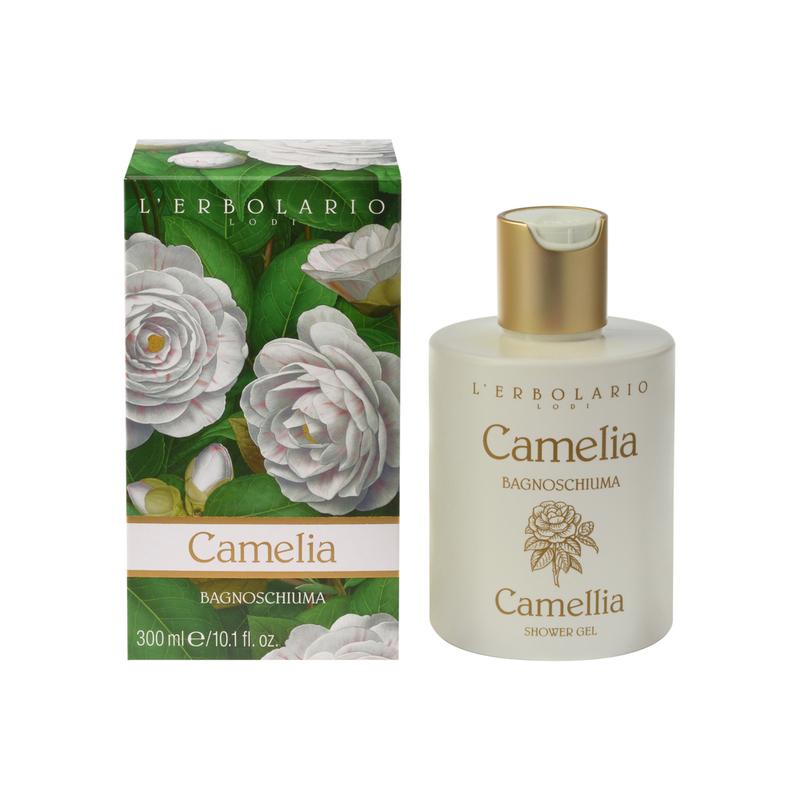 L'Erbolario Camelia Shower Gel - 300ml