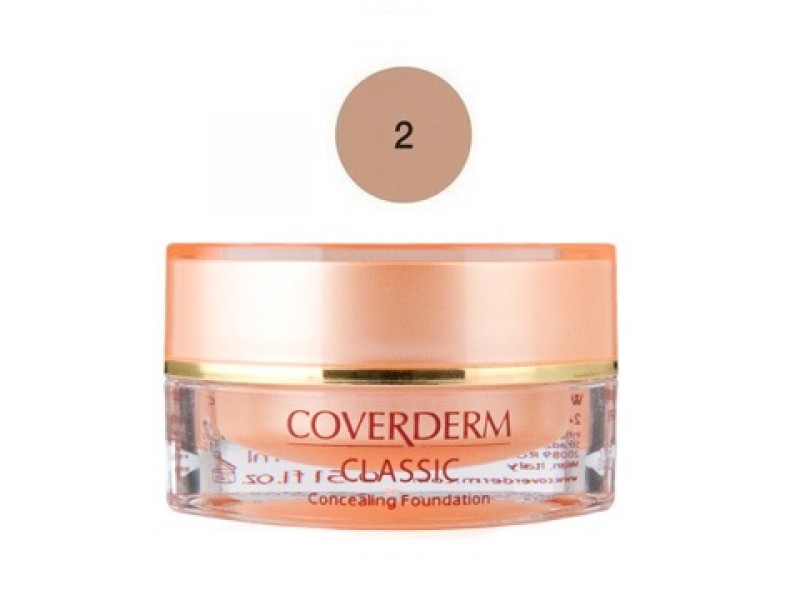Coverderm Classic Concealing Foundation SPF30 No2 15ml