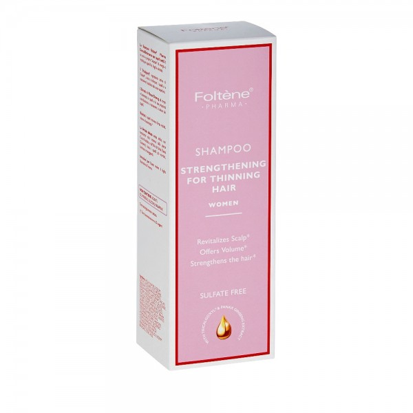 Foltene Pharma (Woman) Shampoo Strengthenning For Thinning Hair 200ml