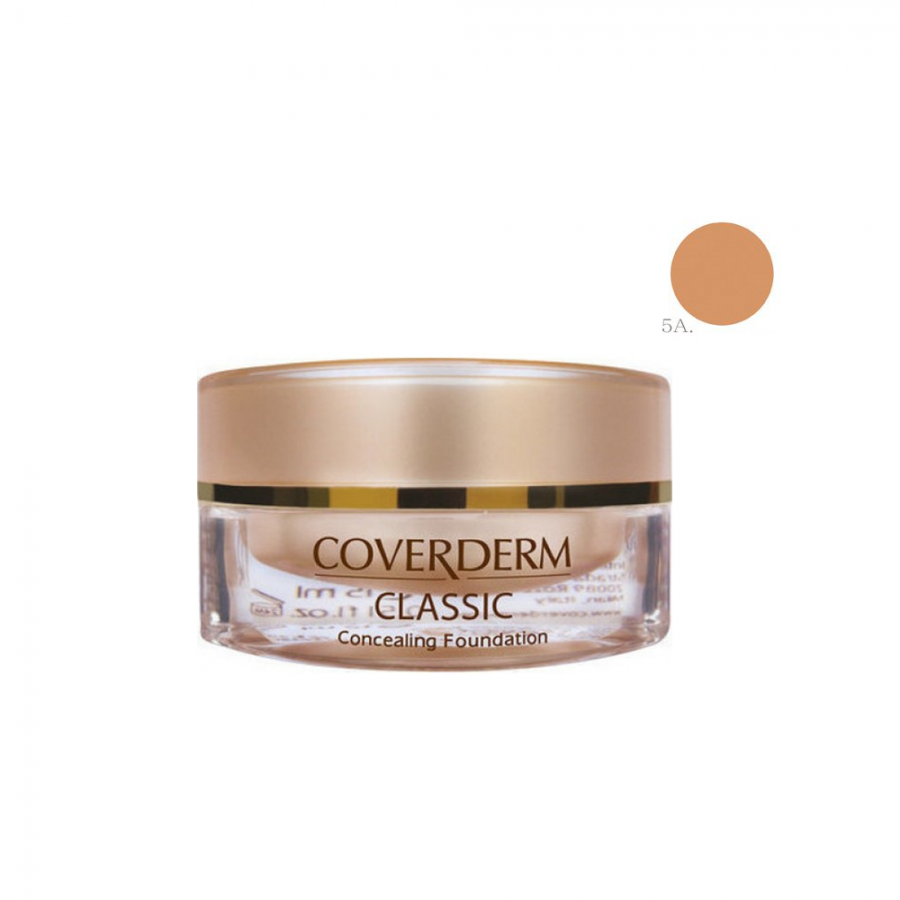 Coverderm Classic Concealing Foundation SPF30 No5A 15ml