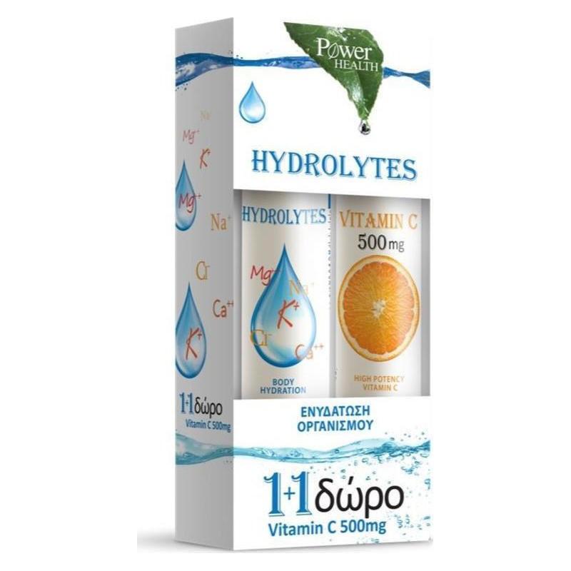 POWER HEALTH Hydrolytes Sports με ΔΩΡΟ Βιταμίνη C 500mg