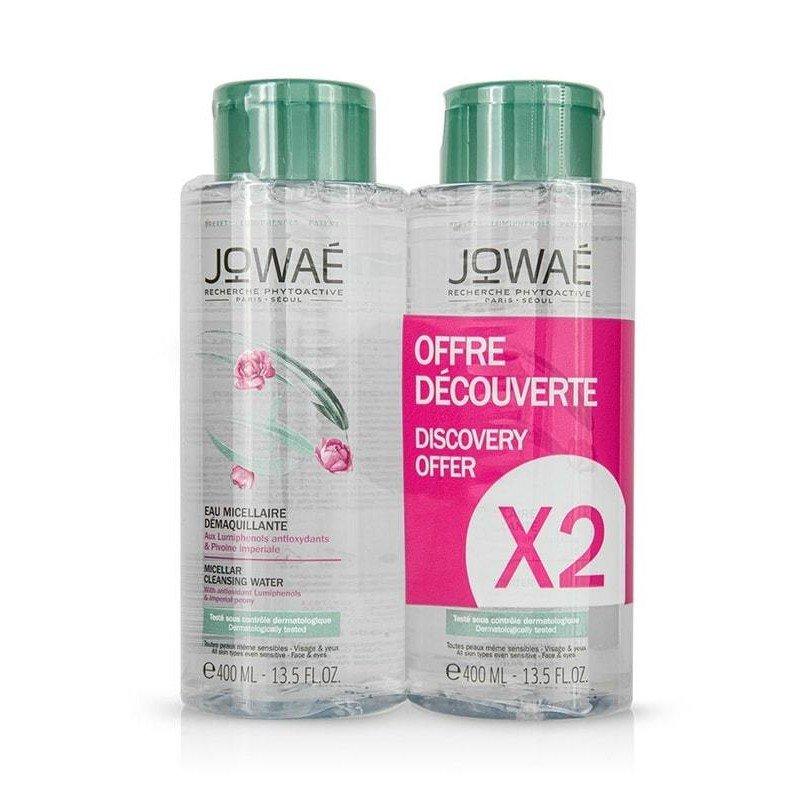 Jowae Promo Micellar Cleansing Water Νερό Kαθαρισμού για Πρόσωπο & Μάτια Vegan Friendly, 2x400ml