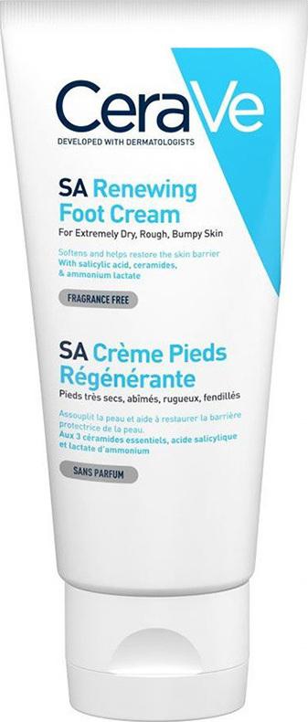 CeraVe SA Renewing Foot Cream Κρέμα Ποδιών